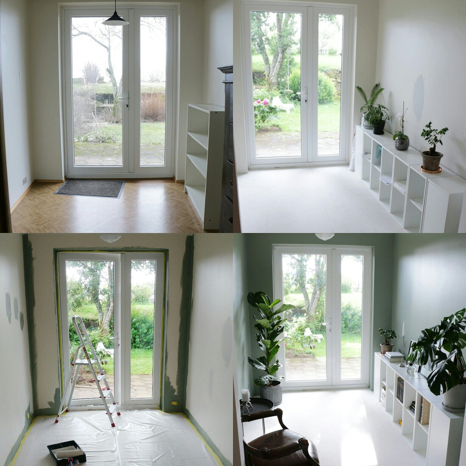 Garden room – Before/After