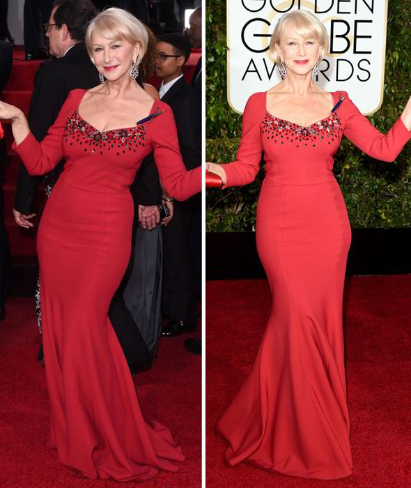 Helen Mirren Dolce Gabbana