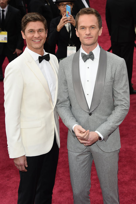 Neil Patrick Harris (R) and David Burtka