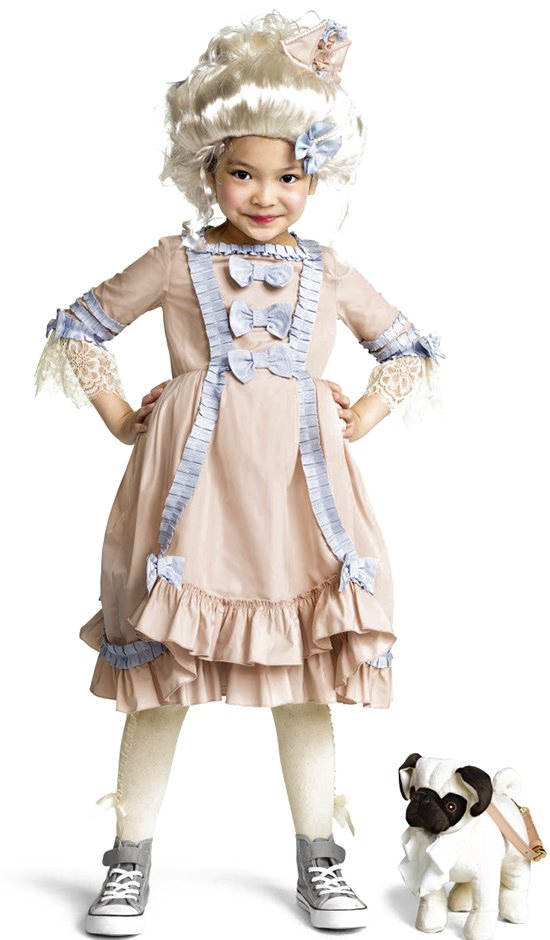 H&M Marie Antoinette Halloween costume for kids