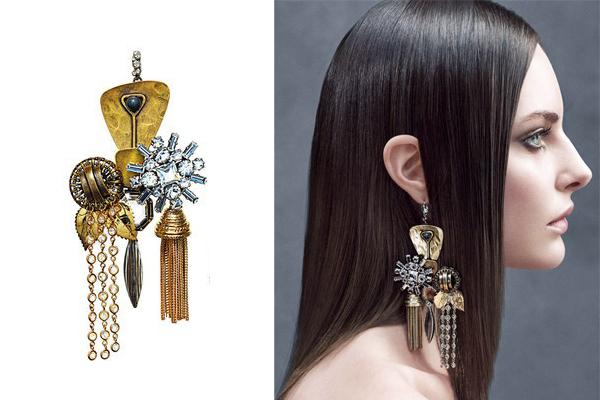 Celine-Mono-Earring