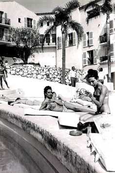 Vintage Byblos Hotel in St. Tropez