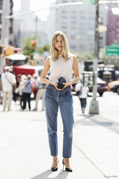 NYFW ss2015 day 2, outside Jason wu, Elin Kling