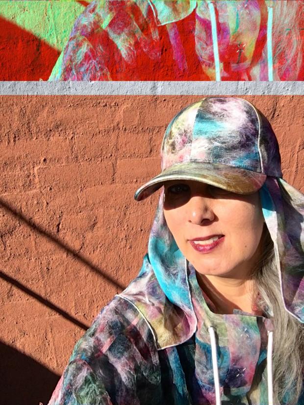 City Safari-portrait of Shoplifterin her design for &Other Stories photo by Lilja Baldurs IMG_8959