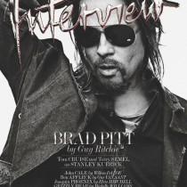 Brad Pitt fyrir INTERVIEW.