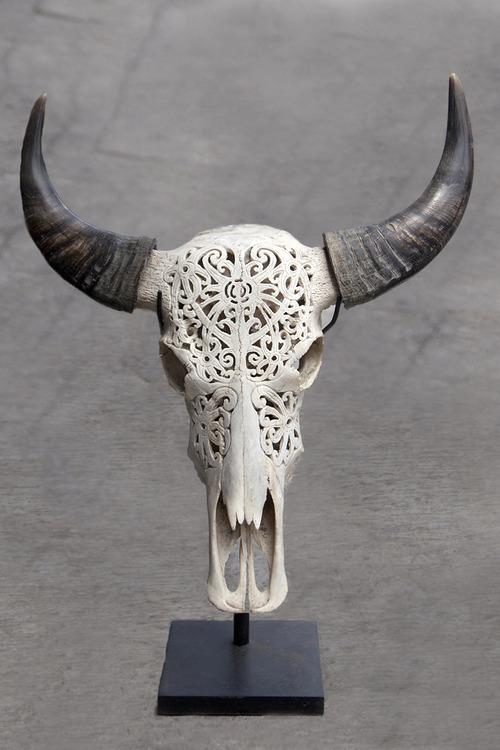 Резьба по черепу животных своими руками 67