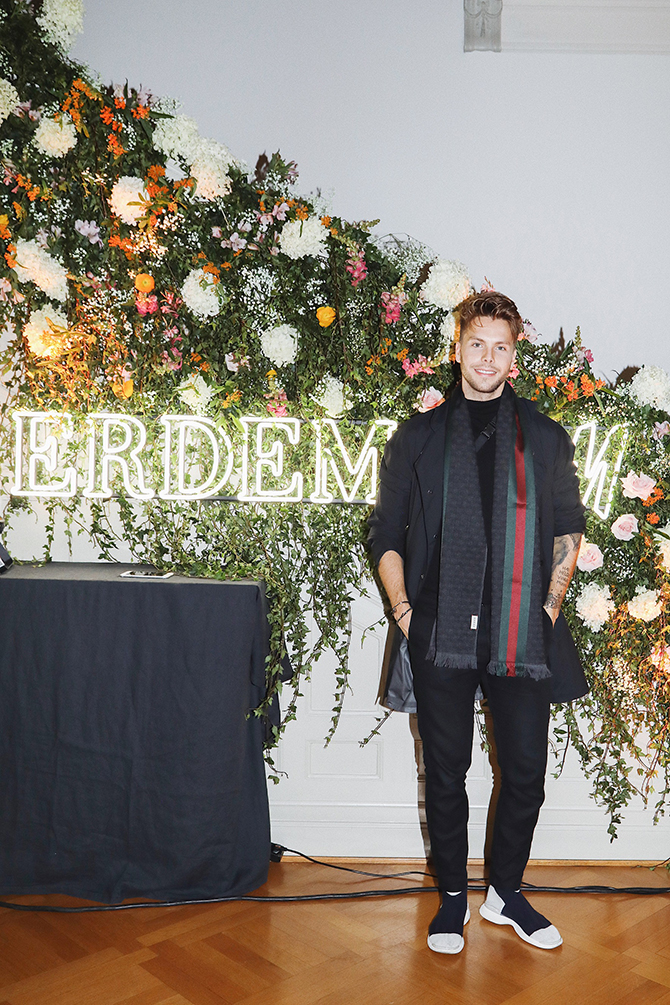 H&M X ERDEM EVENT – OUTFIT