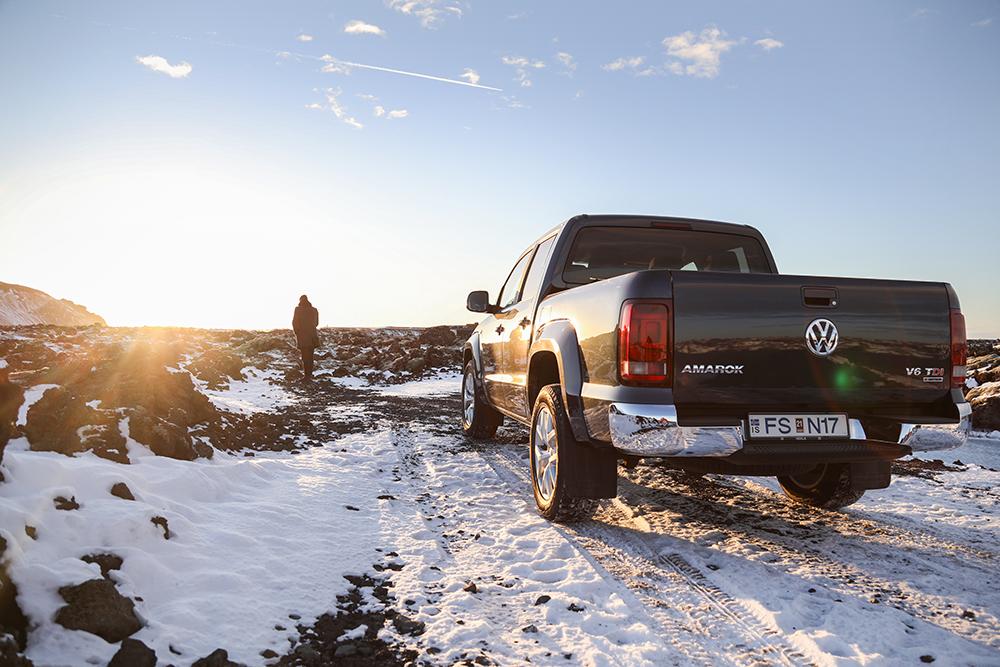 MY RIDE Á ÍSLANDI – VW AMAROK V6