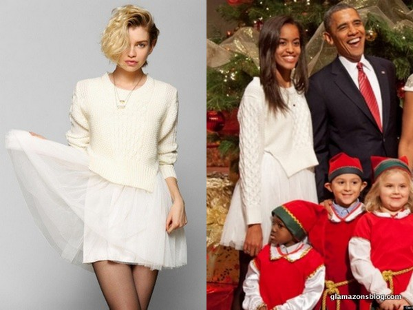 Malia-Obama-christmas-Urban-Outfitters-UNIF-Chelsea-Fisherman-Sweater-Dress-Fashion-Glamazons-blog