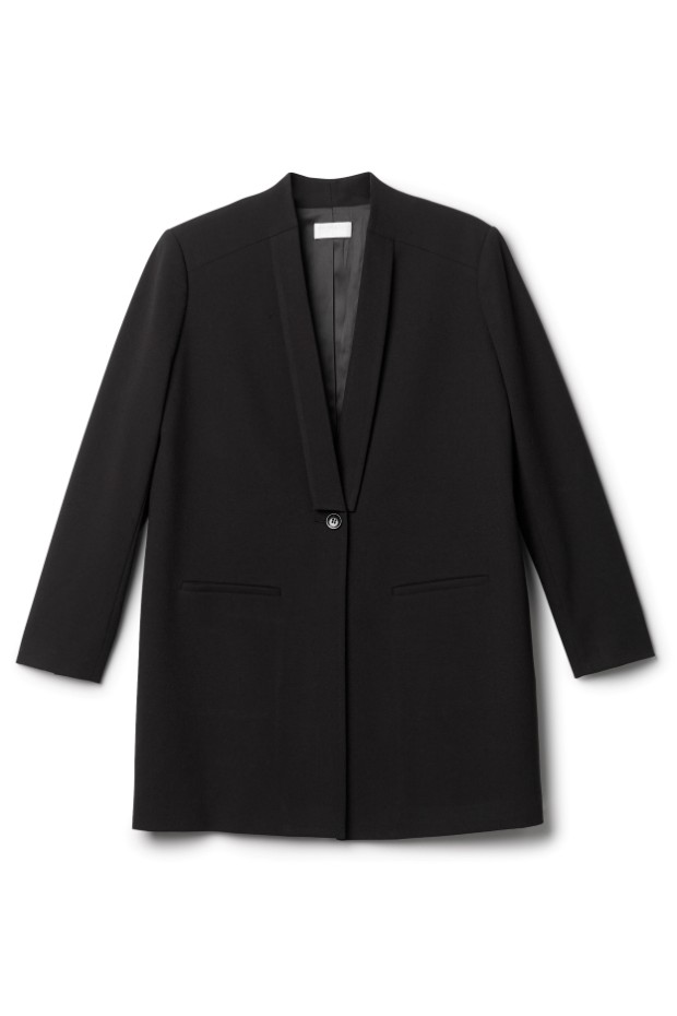 weekday long blazer 135 pund