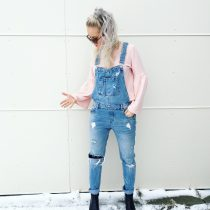 DENIM OVERALL LOVER!