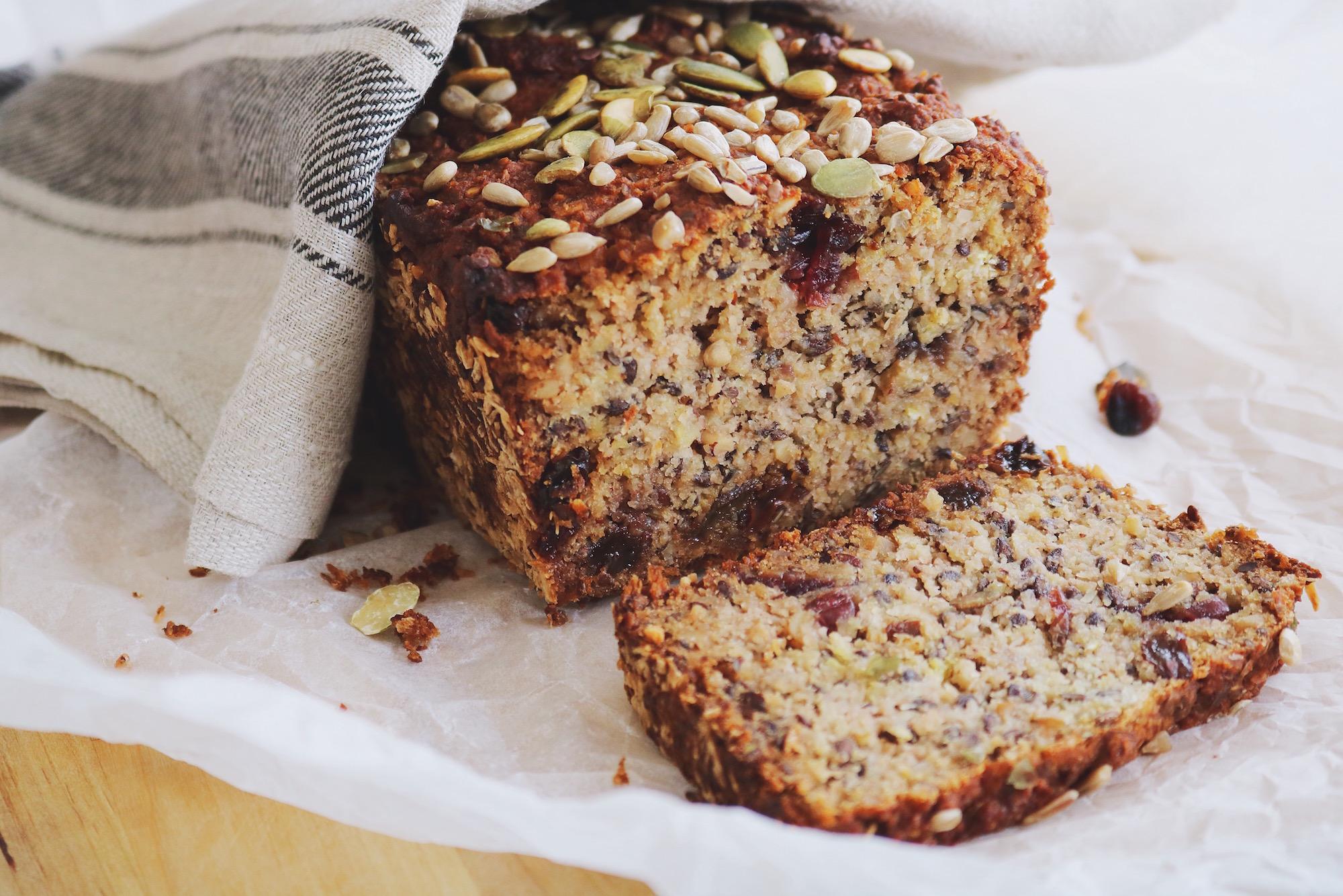 MY DANGEROUSLY GOOD HEALTHY BREAD (gluten free/vegan)