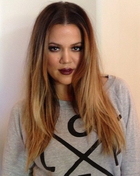 2014-Khloe-Kardashian-Hairstyles-Center-Part-Hairstyle-for-Long-Hair