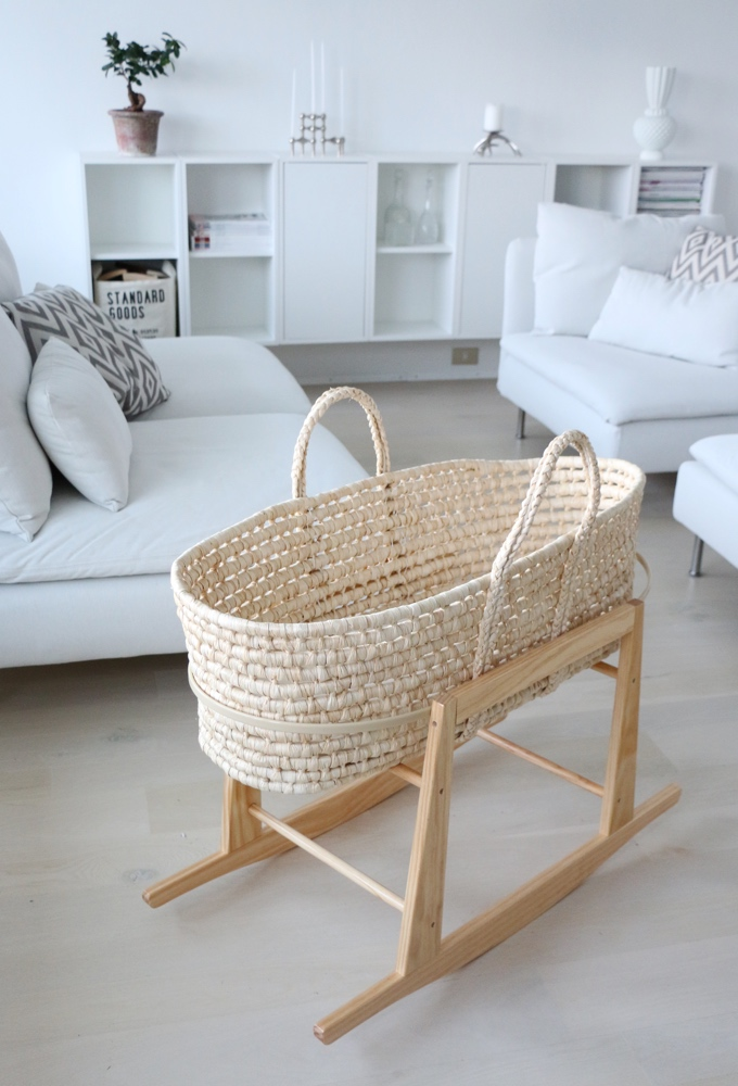 New In: Moses basket