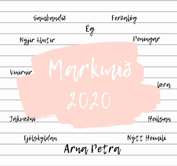 MARKMIÐIN MÍN 2020