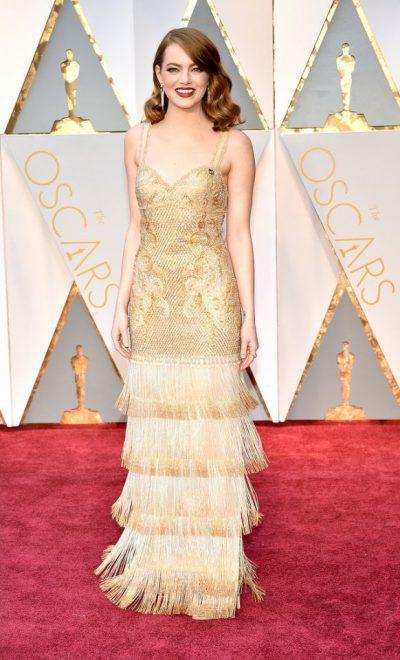 Emma Stone klæddist afar fallegum Givenchy kjól