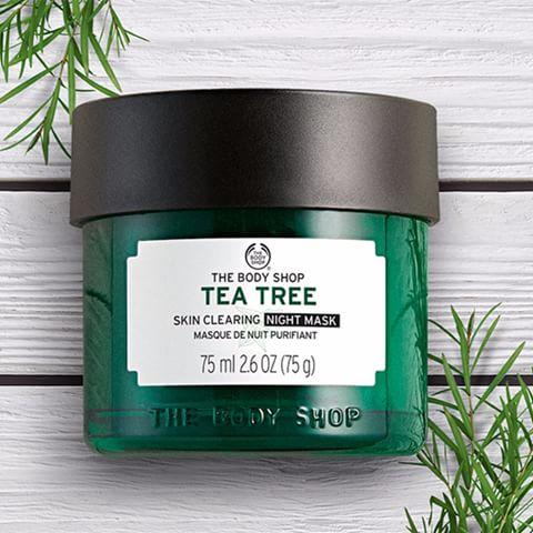TEA TREE SVEFNMASKI: