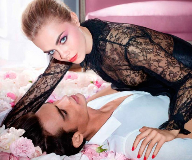 YSL-Flower-Crush-Makeup-Collection-for-Spring-2014-Cara-DElevigne