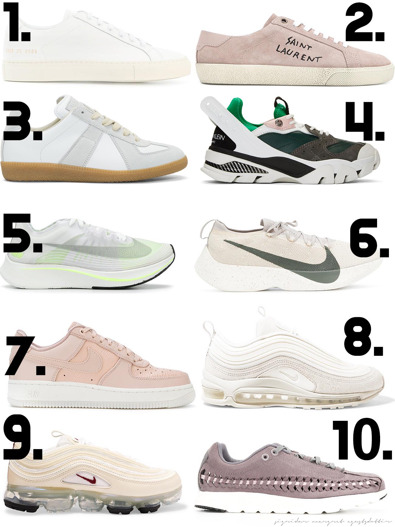 TOP 10 SNEAKERS ON SALE: