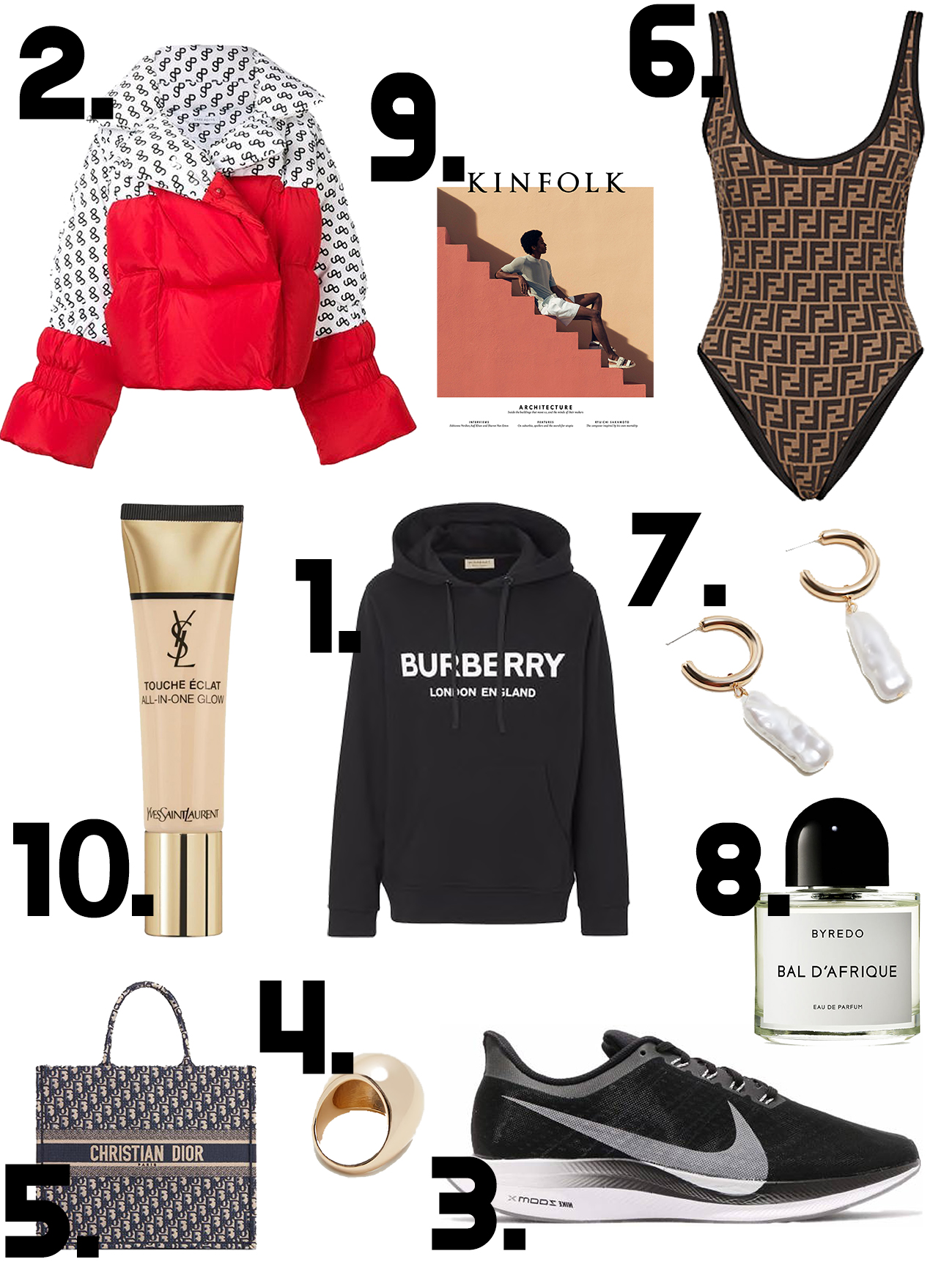 TOP 10 ON THE WISHLIST: