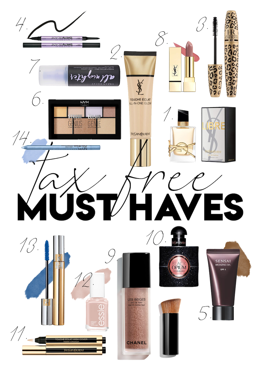 TAX FREE MUST HAVES