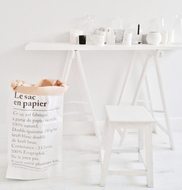 le sac en papier merci trendnet. Black Bedroom Furniture Sets. Home Design Ideas