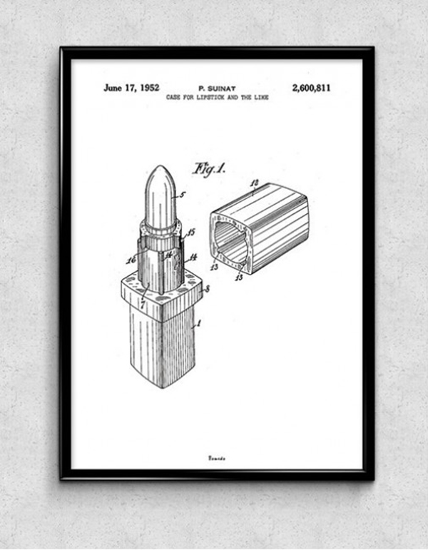 Chanel_Lipstick_Patent_Poster_Black_Frame_1024x1024-650x650
