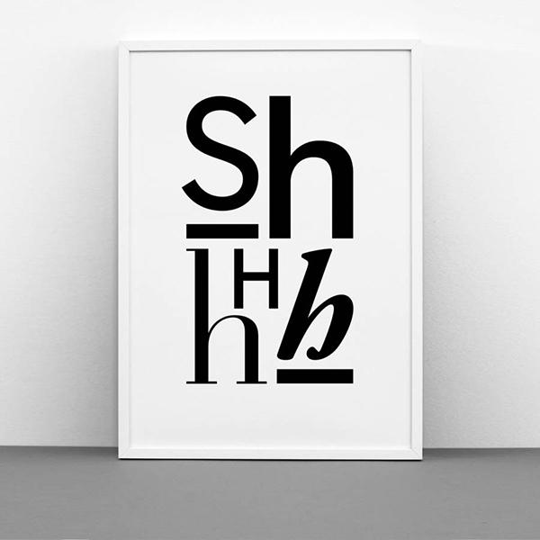 original_shhhh-print
