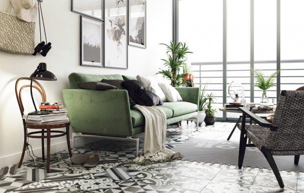 green-living-room-3