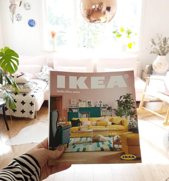 HANN ER MÆTTUR! IKEA BÆKLINGURINN 2018 ♡